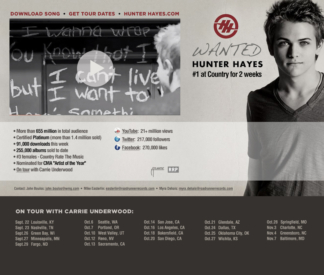 Index of /featuredartists/hunter_hayes